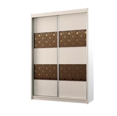 ארונות הזזה: ארון הזזה 2 דלתות מרהיב ביופיו דגם מנגו
