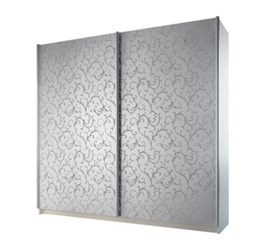 תמונה של  ארונות הזזה: ארון הזזה 2 דלתות מרהיב ביופיו דגם מרטיני