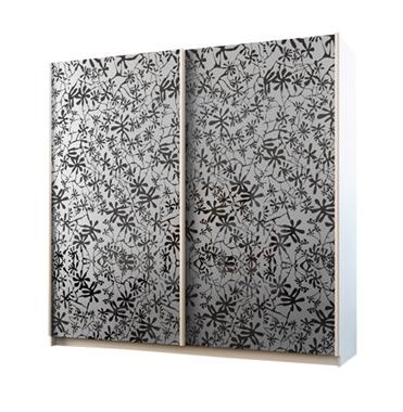 ארונות הזזה: ארון הזזה 2 דלתות מרהיב ביופיו דגם סביון