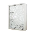 תמונה של  ארונות הזזה: ארון הזזה 2 דלתות מרהיב ביופיו דגם סביון מראות