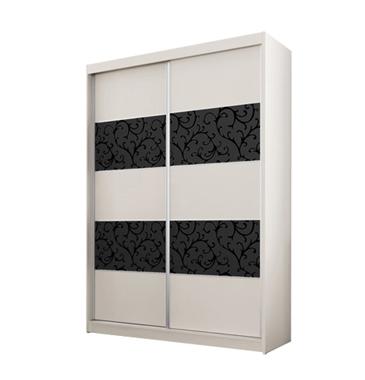 ארונות הזזה: ארון הזזה 2 דלתות מרהיב ביופיו דגם פלמה ורונה