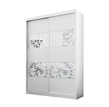 ארונות הזזה: ארון הזזה 2 דלתות מרהיב ביופיו דגם פלמה תאנה