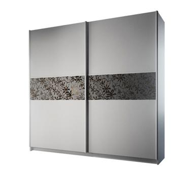 ארונות הזזה: ארון הזזה 2 דלתות מרהיב ביופיו דגם רקפת