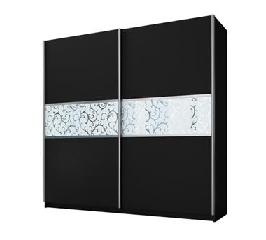 ארונות הזזה: ארון הזזה 2 דלתות מרהיב ביופיו דגם רקפת ורד