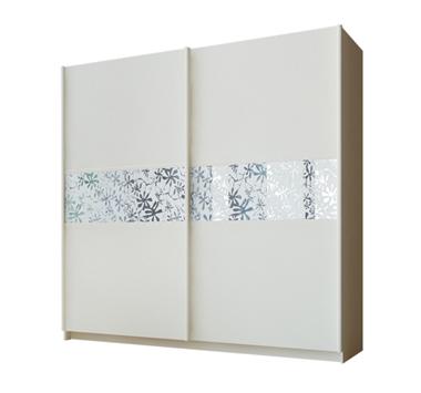 ארונות הזזה: ארון הזזה 2 דלתות מרהיב ביופיו דגם רקפת תאנה