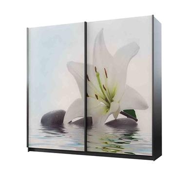 ארונות הזזה: ארון הזזה 2 דלתות מרהיב ביופיו דגם שנהב