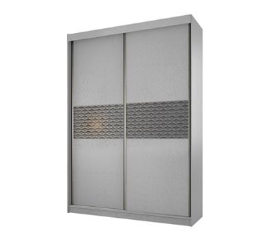 תמונה של  ארונות הזזה: ארון הזזה 2 דלתות מרהיב ביופיו דגם שקדיה