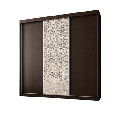 ארונות הזזה: ארון הזזה 3 דלתות מרהיב ביופיו דגם  אוניקס אלמוג