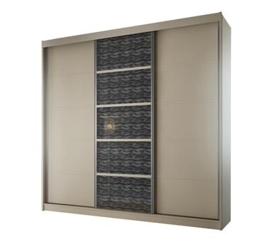 ארונות הזזה: ארון הזזה 3 דלתות מרהיב ביופיו דגם  אוניקס ברקן