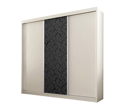 ארונות הזזה: ארון הזזה 3 דלתות מרהיב ביופיו דגם  אוניקס ורונה