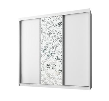 ארונות הזזה: ארון הזזה 3 דלתות מרהיב ביופיו דגם  אוניקס תאנה