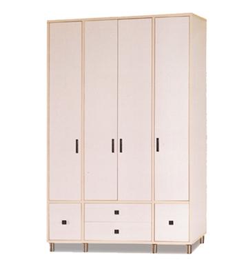 תמונה של ארונות בגדים: ארון 4 דלתות במחיר משתלם דגם לונדון