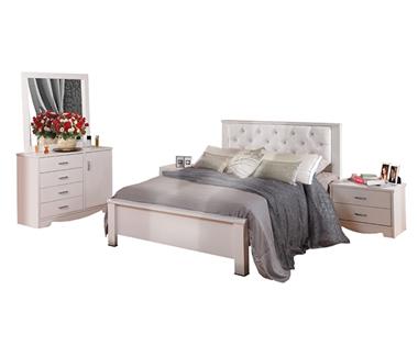 חדרי שינה: חדר שינה זוגי דגם סנדי
