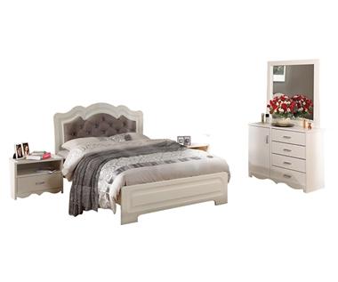 תמונה של חדרי שינה: חדר שינה זוגי דגם שקד