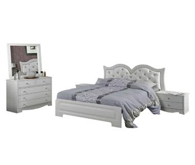חדרי שינה: חדר שינה זוגי דגם מינה