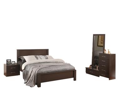 תמונה של חדרי שינה: חדר שינה זוגי דגם סער