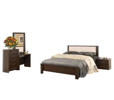 תמונה של חדרי שינה: חדר שינה זוגי דגם שחף