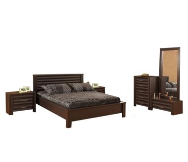 חדרי שינה: חדר שינה זוגי דגם פיקסו