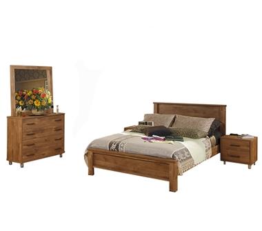 חדרי שינה: חדר שינה זוגי דגם כרמית