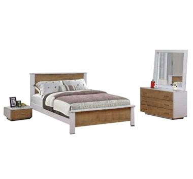 תמונה של חדרי שינה: חדר שינה זוגי דגם אורן