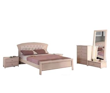 חדרי שינה: חדר שינה זוגי דגם אורנית