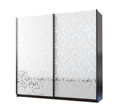 תמונה של ארונות הזזה: ארון הזזה 2 דלתות מרהיב ביופיו דגם ורד