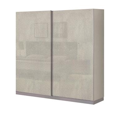 תמונה של ארונות הזזה: ארון הזזה 2 דלתות מרהיב ביופיו דגם רחף 2