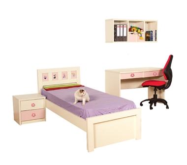 חדרי ילדים: חדר ילדים קומפלט דגם ספיר