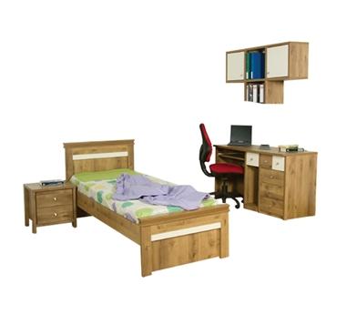 חדרי ילדים: חדר ילדים קומפלט דגם נוריאל