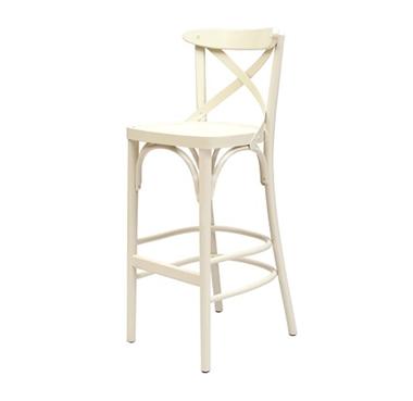 כיסאות בר: כיסא בר מעץ דגם אקסטרה