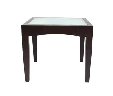"""שולחנות: שולחן נפתח לפינת אוכלת דגם פקינו זכוכית 90 ס""""מ"""