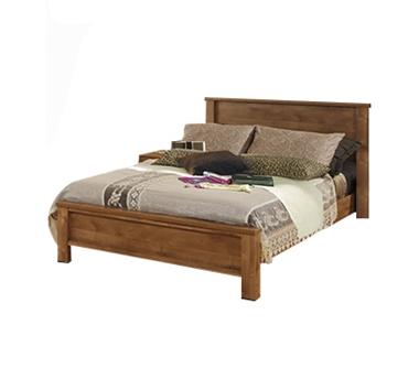 מיטות: מיטה זוגית דגם כרמית