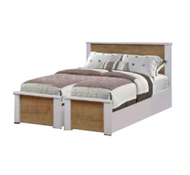 מיטות: בסיס מיטה זוגי בהפרדה יהודית דגם אורן