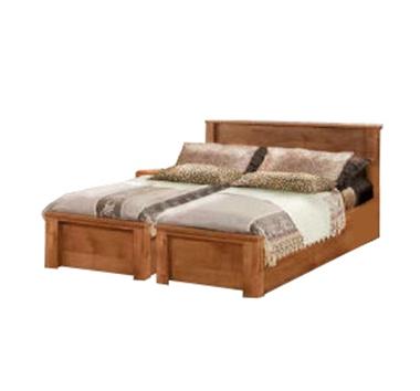 מיטות: בסיס מיטה זוגי בהפרדה יהודית דגם כרמית