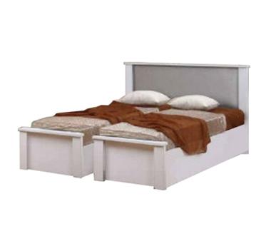 מיטות: בסיס מיטה זוגי בהפרדה יהודית דגם לוטוס