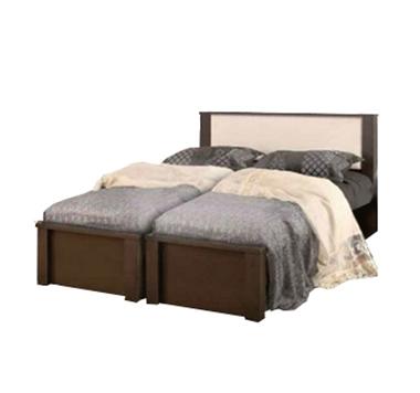 מיטות: בסיס מיטה זוגי בהפרדה יהודית דגם שחף