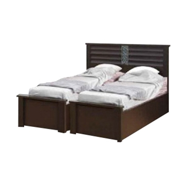 מיטות: בסיס מיטה זוגי בהפרדה יהודית דגם שיבולת