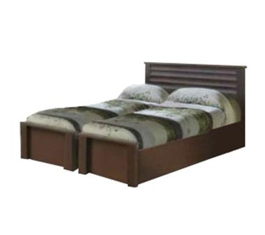 תמונה של מיטות: בסיס מיטה זוגי בהפרדה יהודית דגם פיקסו