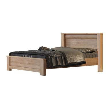 מיטות: מיטה זוגית דגם סתיו