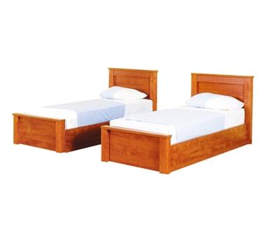 מיטות: בסיס מיטה זוגי בהפרדה יהודית דגם מור