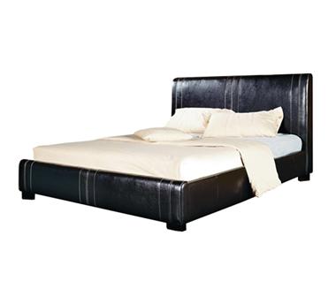 מיטות: מיטה זוגיות מרופדת דגם יוקרה