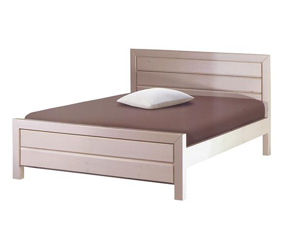 מודרני פניקה רהיטים. מיטות: מיטה זוגית מעץ מלא דגם יהלום OM-82