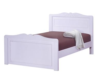 תמונה של מיטות: מיטה וחצי מעץ מלא דגם נטלי