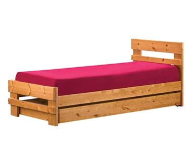 תמונה של מיטות: מיטה יחיד מעץ מלא דגם לירון