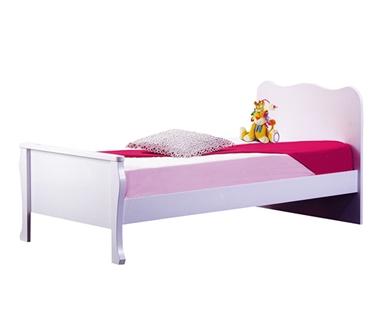 תמונה של מיטות: מיטה יחיד מעץ מלא דגם מאיה