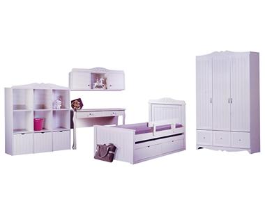 חדרי ילדים: חדרי ילדים מעץ מלא דגם רונן