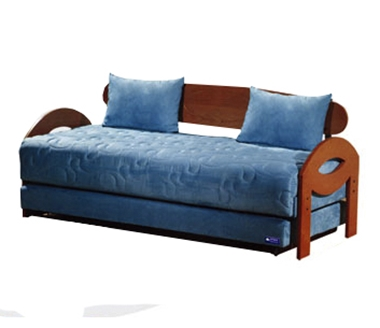 מיטות: ספת נוער + מיטה נגררת על קל דגם 9103