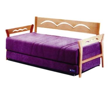 מיטות: ספת נוער + מיטה נגררת על קל דגם 8203
