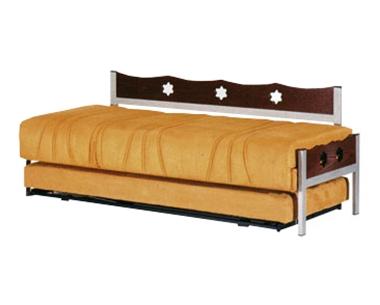 מיטות: ספת נוער + מיטה נגררת על קל דגם 1303