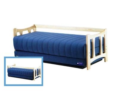 מיטות: ספת נוער + מיטה נגררת על קל דגם 8303